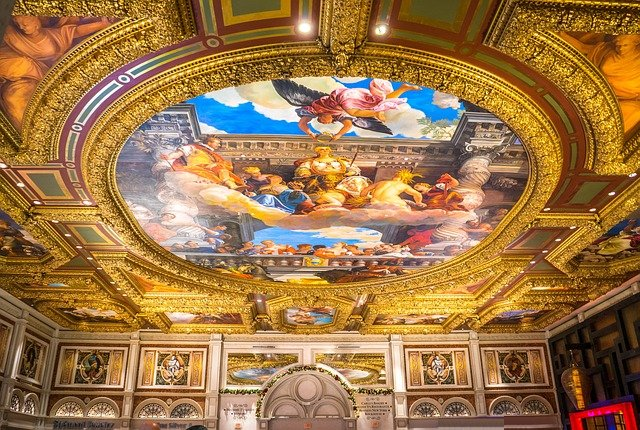 Vatican ceiling painting